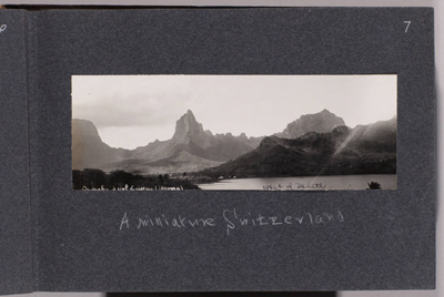 Opunohu à vol d'oiseau (1905)