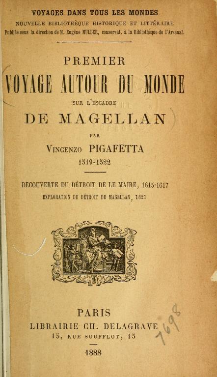 Premier voyage autour du monde sur l'escadre de Magellan (1519-1522)