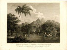 Maison des missionnaires sur l'île de Tahiti (1799)
