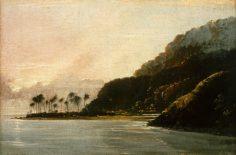 Vue de la Pointe Vénus et de la baie de Matavai (1773)