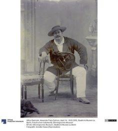 Alexander Paea Salmon – Photographie de Arthur Baessler (1896-1898)