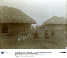 Tautira – Tahiti – Photographie de Arthur Baessler (1896-1898)