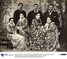 Portrait de la famille Brander / Salmon – Arthur Baessler (1896/1898)