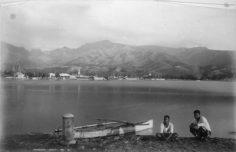 Papeete et son port – George Dobson Valentine (1887)