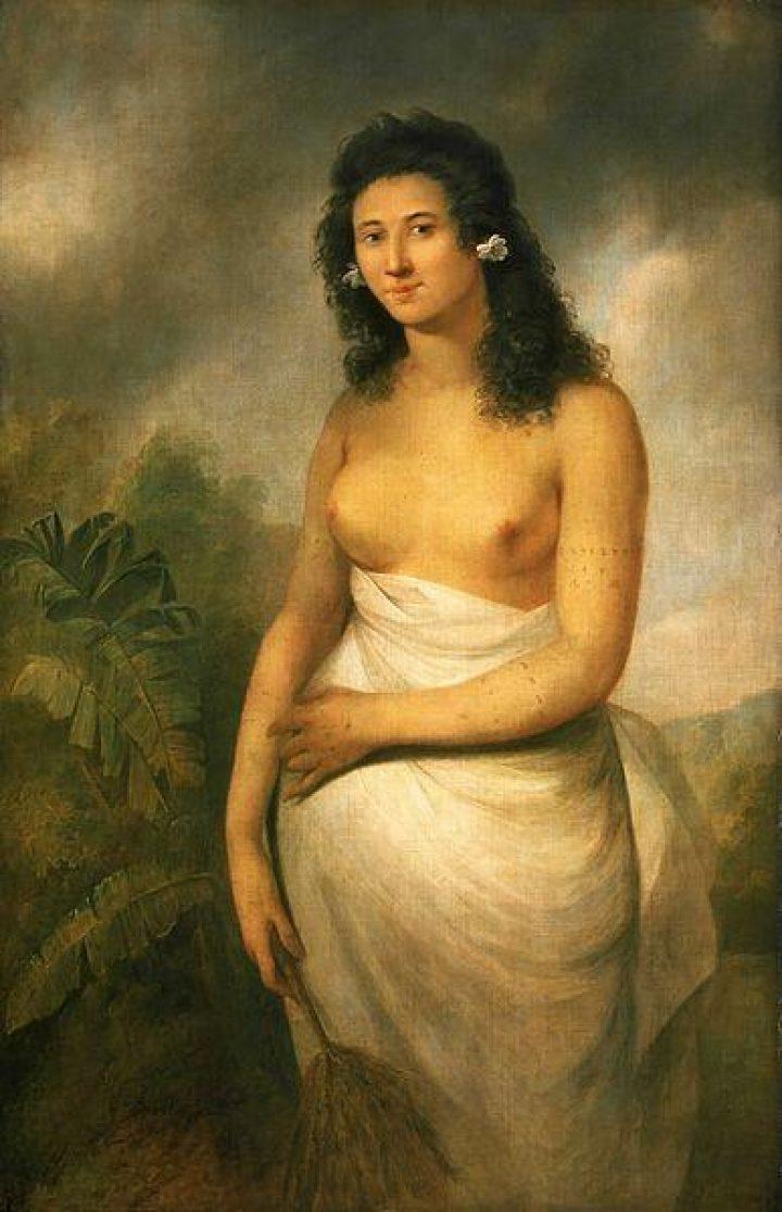 Portrait of Poedooa (1776)