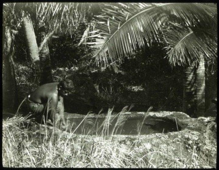 Bain de la reine à Rouru – Mangareva (1921-1923)