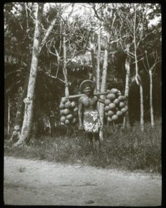 Porteur de fruits de l'arbre à pain (1921-1923)