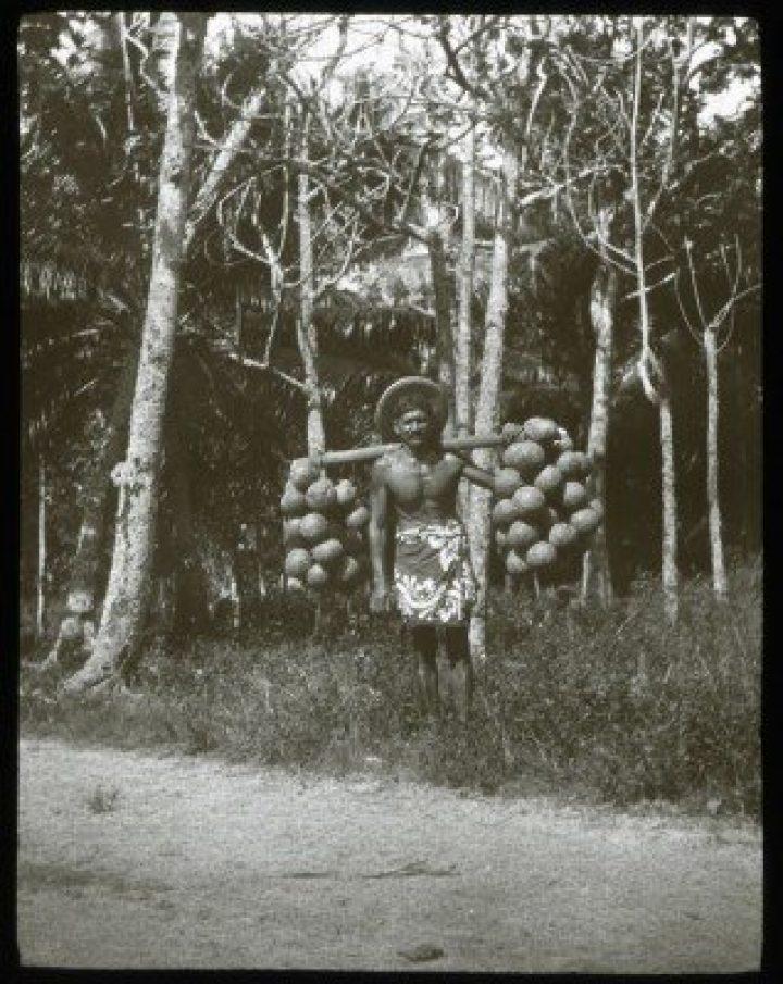 Porteur de fruits de l'arbre à pain (1921-1923)