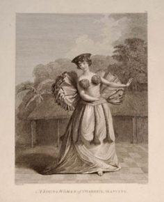 Jeune femme de Tahiti dansant (1785)