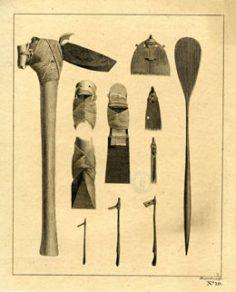 Peignes à tatouer & herminettes (1773)