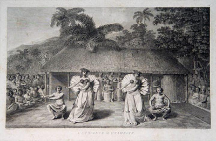 Une danse de Tahiti (1785)