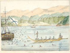 Taiohae laht Nuku Hiva saarel Polüneesias (1803/1806)