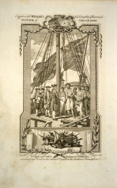 A chief and other natives of O-Taheitee, visiting Captain Cook in his second voyage to the Southern Hemisphere (1786)