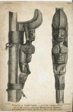 Échasses de Tahuata – Santa Christina (1790-1792)
