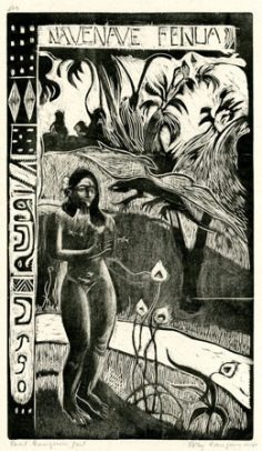 Nave Nave Fenua – Paul Gauguin (1893/1894) – Edition 1921