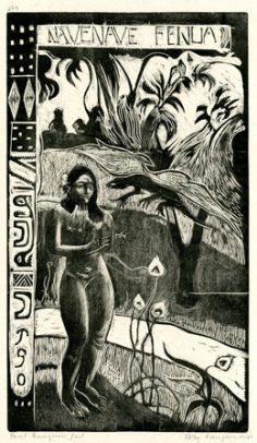 Nave Nave Fenua – Paul Gauguin (1893/1894) – Edition 1921