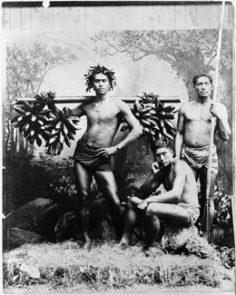 Ramasseurs de bananes sauvages, Tahiti (1887)