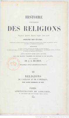 Histoire universelle des religions – Volume 3 (1845)