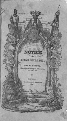 Notice sur l'île de Tahiti (1836)