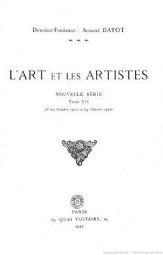 L'art et les artistes : Paul Gauguin (1925)