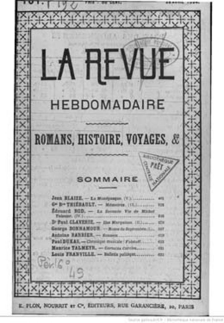 Notes de voyage – Iles Marquises – Partie II (1894)