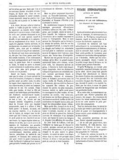 La science populaire – L'Australie et les îles océaniennes – La genèse polynésienne (1881)
