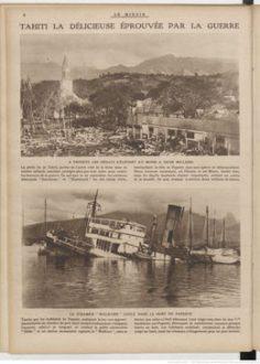 Le miroir – Tahiti la délicieuse éprouvée par la guerre (1914)