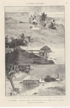 Les îles Sous-le-Vent – Le Monde illustré (1890)