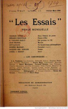 Marine – Poème (1906)