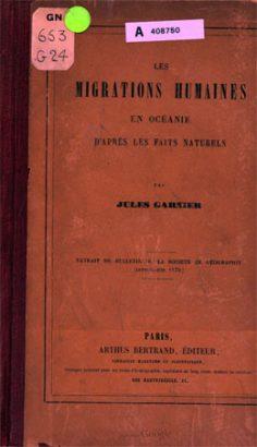 Les migrations humaines en Océanie d'après les faits naturels (1870)