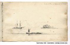 Papeiti Harbour, Tahiti  – Conrad Martens (1835)