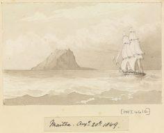 Maitea (Mehetia) – Sir Edward Gennys Fanshawe – 20 août 1849