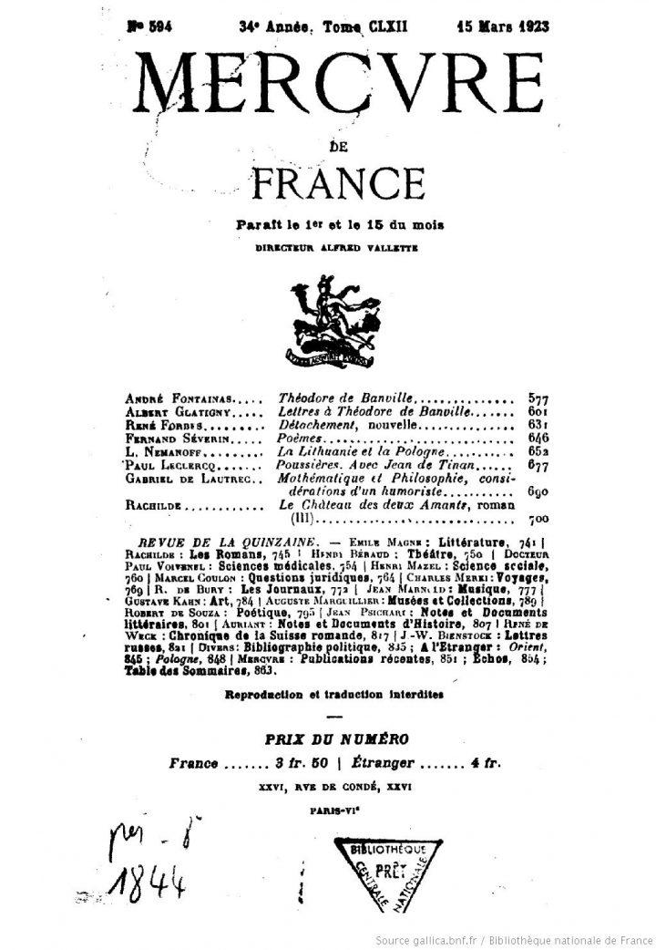 A la grande pitié de Tahiti – Jean Dorsenne (1923)