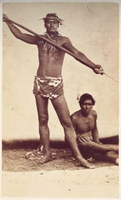 Pêcheurs tahitiens – Paul-Emile Miot (1870)