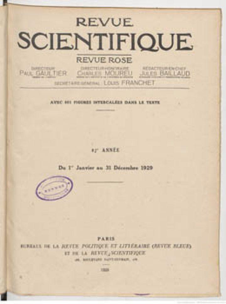 La grande escale nécessaire dans le Pacifique sud : Port Phaeton (Tahiti) ou Rapa (1929)