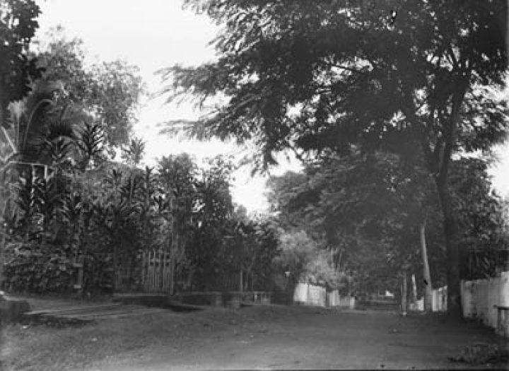 Rue de Papeete en 1907
