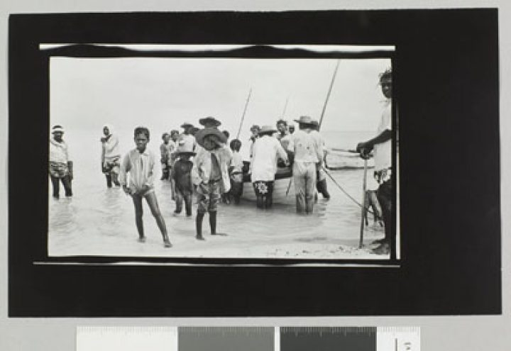 Natifs des mers du sud – Bora Bora – Album photos de Jack London (1908)