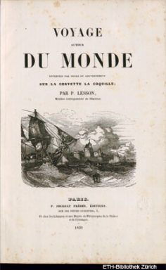 Voyage autour du monde sur la corvette La Coquille – Tome I (1839)