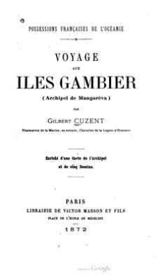 Voyage aux îles Gambier (1872)