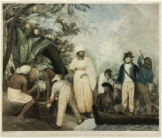 Transplanting of the breadfruit trees from Otaheite (1796)
