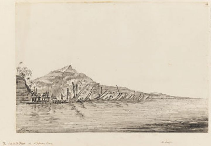 Flotte de Otaheite à Appany Bay – William Hodges (1774)