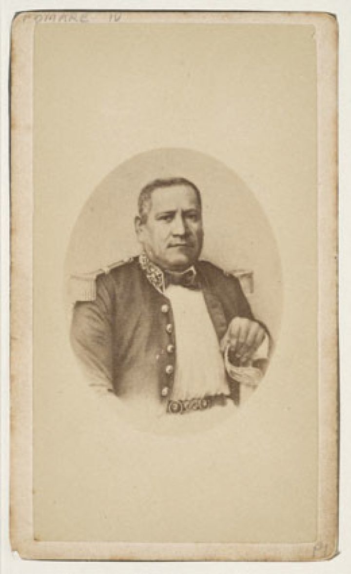 Tahiti Royal male, Ariifaite – Hoare (1877)