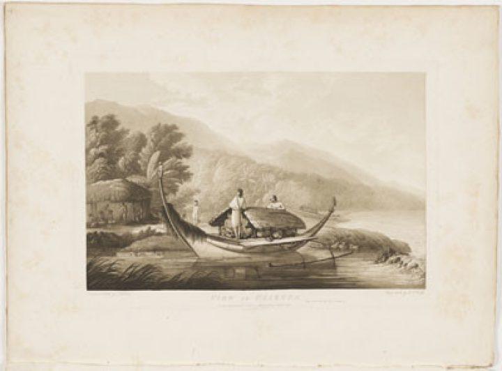 View in Ulietea – John Webber (1787)
