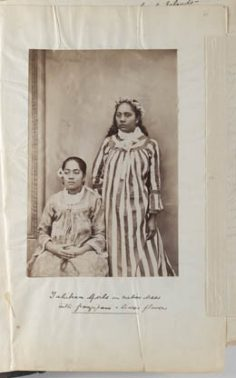 Tahitiennes en robe locale – Reminiscences of Tahiti – Society Islands – during a six week's visit (1887)