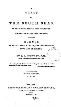A visit to the South seas, in the United States ship Vincennes, during the years 1829 and 1830 – Volume II (1832)