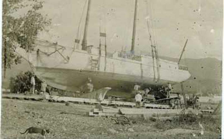 La Croix du Sud en cale sèche (1905)