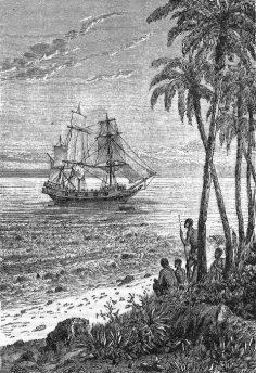 Les révoltés de La Bounty par Jules Vernes (livre audio)