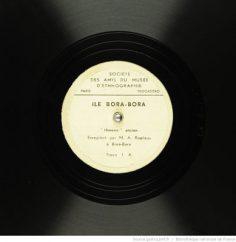 Himene ancien de l'île de Bora-Bora / M. André Ropiteau (1935)