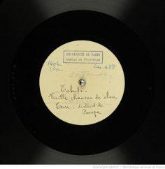 Vieille chanson de clan Teva – District de Papara (1930)
