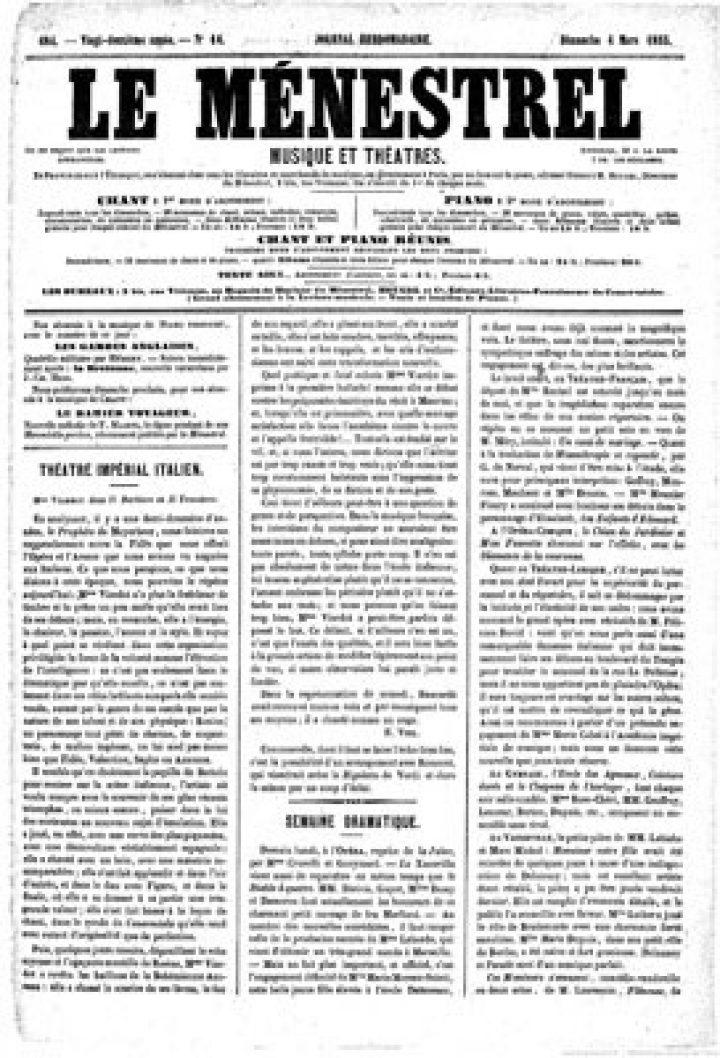 La musique à Tahiti – La guimbarde (1855)
